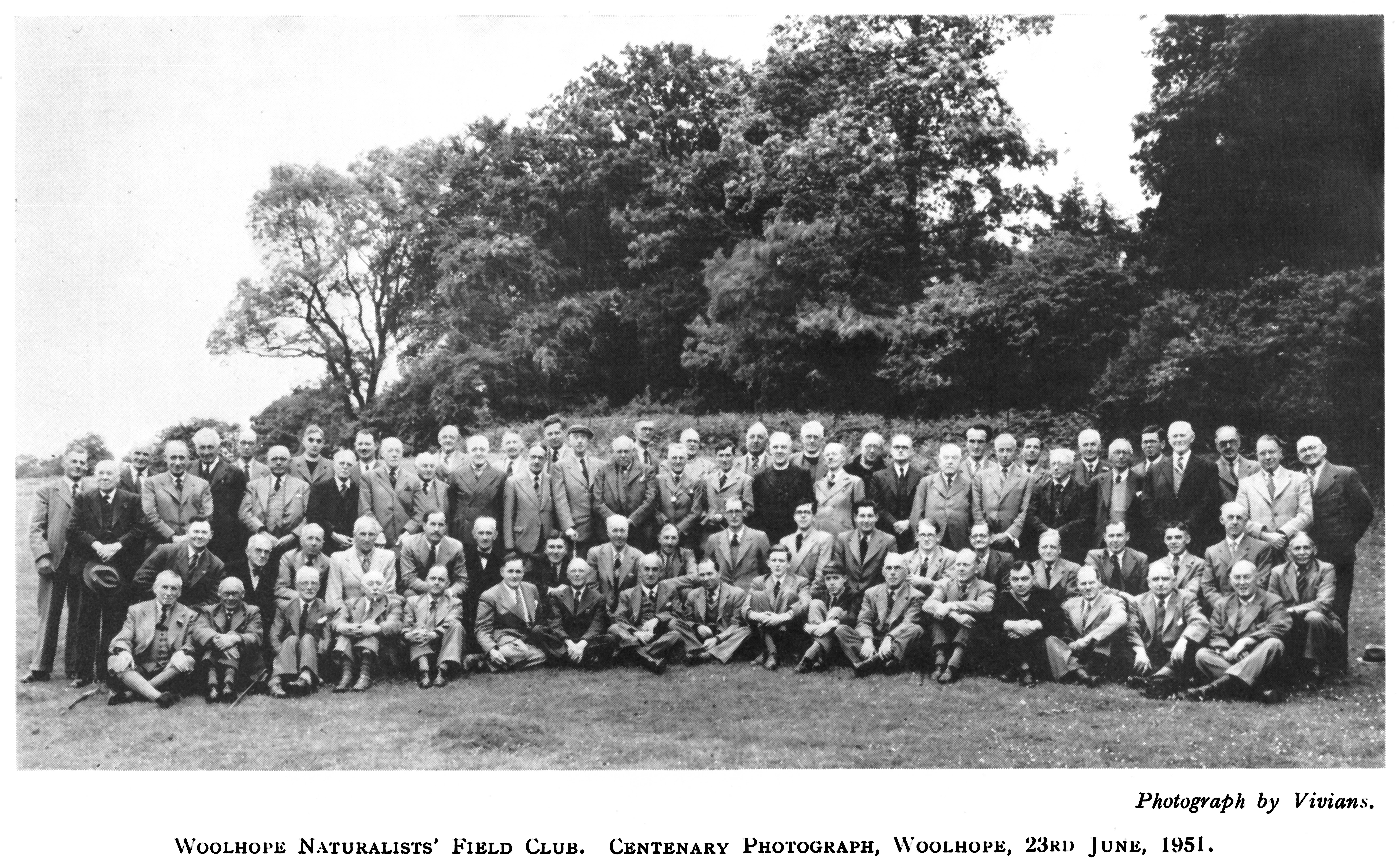 Woolhope Club centenary photograph