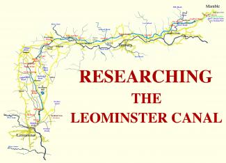 title page Leominster canal