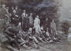 1884 Woolhope Club meeting to Bach tump and Berrington