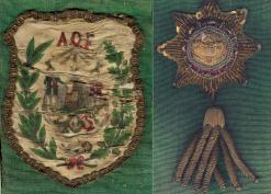 Ancient Order of Foresters insignia Goodrich