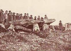 Woolhope Club Field Meeting to Arthur's Stone 25 May 1882